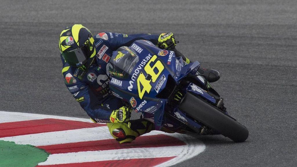 Kata Rossi Soal Puasa Podium di Tiga Balapan MotoGP