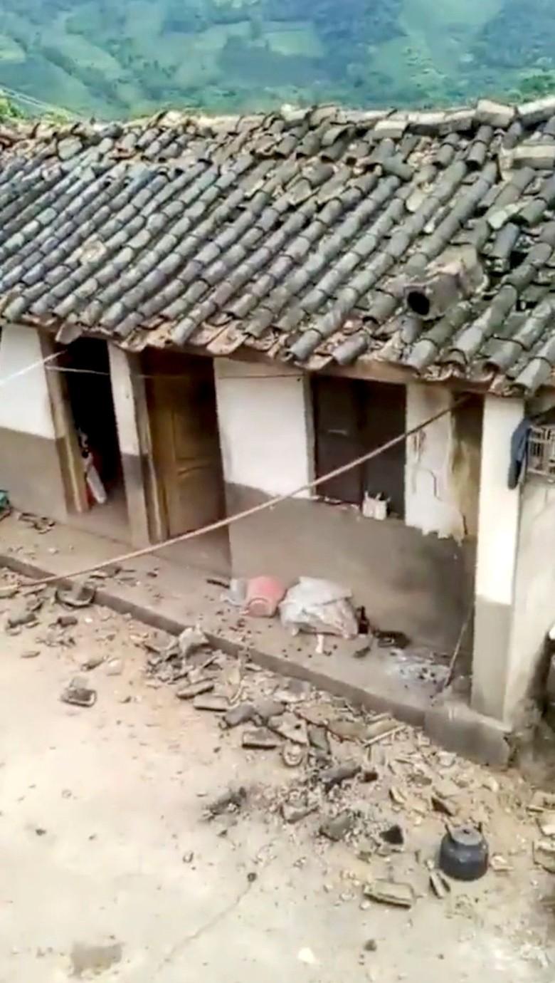 Gempa Berkekuatan 5,6 SR Guncang China