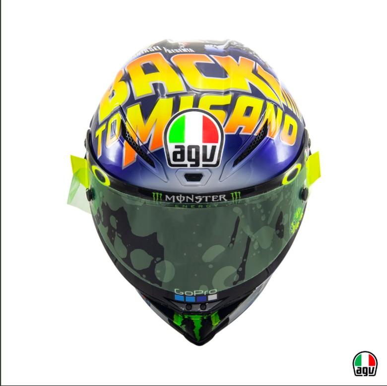 Helm Rossi Foto: Pool (twitter/AGV)