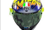 Ngebut di Misano, Ini Helm Anyar yang Bakal Dipakai Rossi Besok