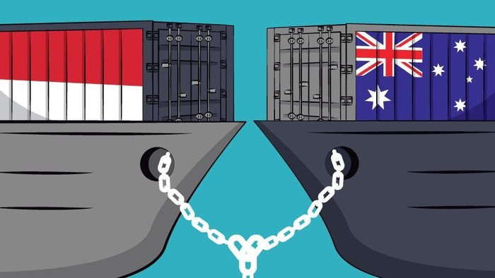 Revisi Infografis Kerja Sama Dagang RI-Australia