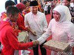 Diusung PD Jadi Gubernur, Khofifah-Emil Dukung Jokowi Nyapres