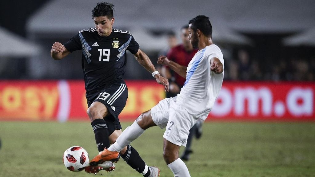 Hasil Uji Coba: Tanpa Messi, Argentina Gasak Guatemala 3-0