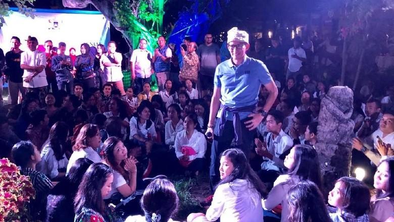 Malam Mingguan di Soundrenaline, Sandiaga Bicara Ekonomi Kreatif