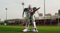 Foto: Ini Vayar, Robot Keren Maskot Baru Timnas Belarusia
