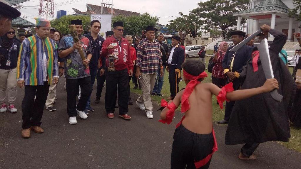 Rangkaian Haornas dan Kirab Obor Asian Para Games di Ternate Dimulai