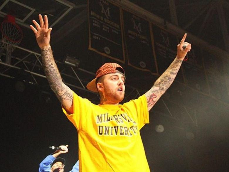 Kabar duka datang dari rapper Mac Miller. Foto: Mac Miller (Instagram)