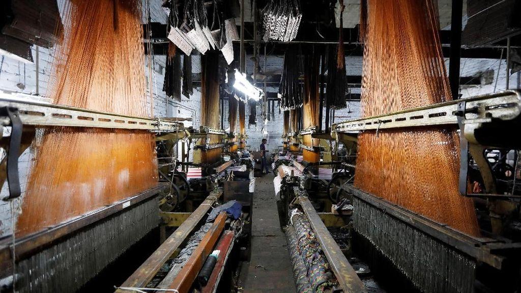 Ekonomi Goyah, Kawasan Industri Tekstil di India Gulung Tikar