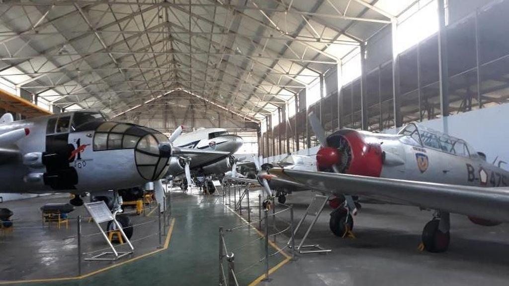 Intip Pesawat Tempur di Museum Dirgantara Mandala Yogyakarta