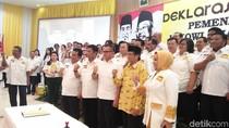 Tukang Nasgor sampai Pecinta Harley Deklarasi Dukung Jokowi