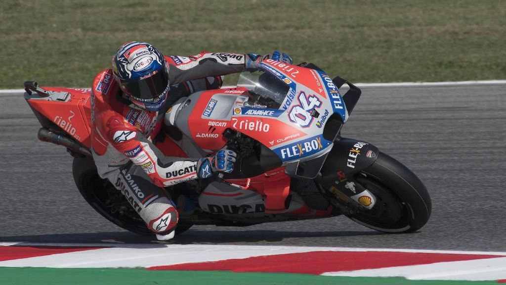 Ducati Dominan, Dovizioso Puncaki Latihan Bebas Pertama MotoGP Aragon