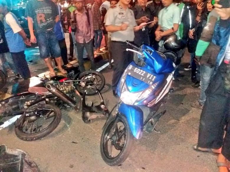 Ilustrasi kecelakaan Foto: twitter @TMCPoldaMetro