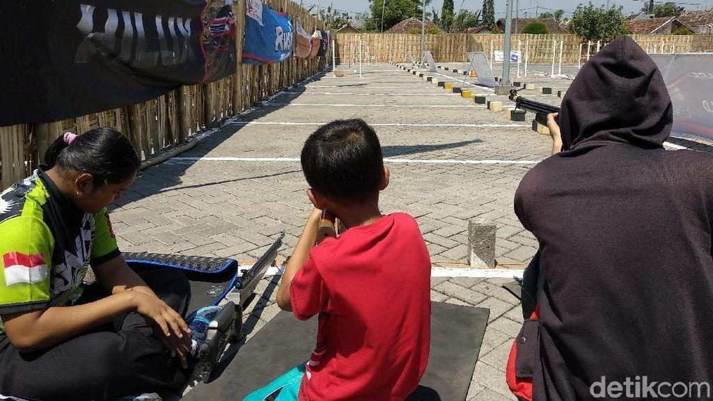 Ratusan Penembak Jitu Ikut Lomba Bertajuk Metal Siluet se-Jawa Bali