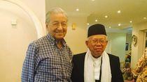 Bertemu Mahathir, Maruf Amin Bicara WNI hingga Politik