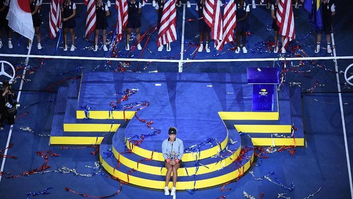 Naomi Osaka juara Amerika Serikat Terbuka 2018. (Foto: Danielle Parhizkaran-USA TODAY SPORTS)