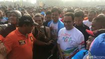 Ke Festival Jakarta Sehat, Anies Jamin Fasilitasi Olahraga Warga