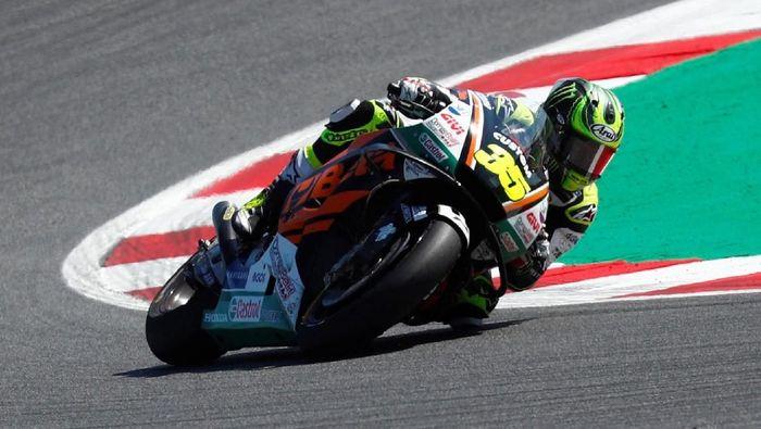 Cal Crutchlow finis ketiga di MotoGP San Marino 2018. (Foto: Max Rossi/Reuters)