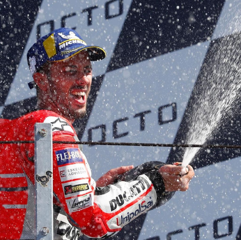 Dovizioso: Eksekusi Sempurna Akhiri Penantian Juara di San Marino