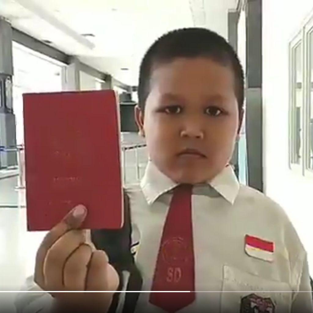 Setelah Sepeda, Bocah Pelintas Batas Negara Ingin Jumpa Jokowi