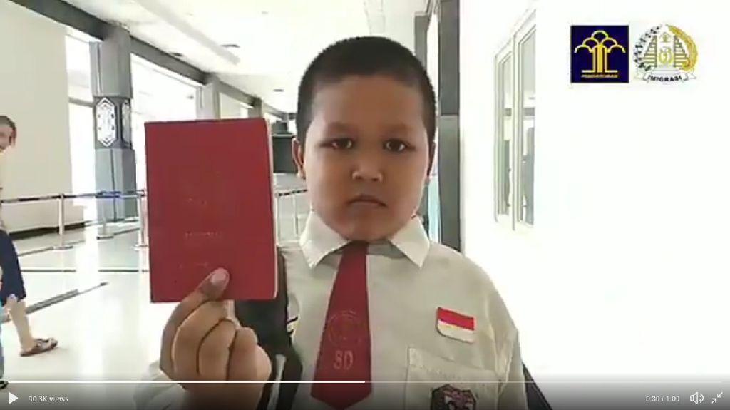 Cerita Saka, Bocah yang Tiap Hari ke Luar Negeri demi Sekolah