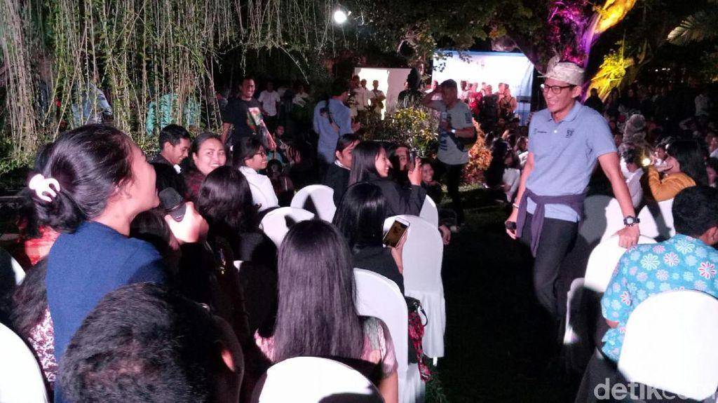 Sandiaga: Milenial di Bali Ingin OK OCE