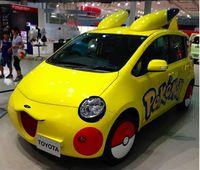 Mobil Pikachu.