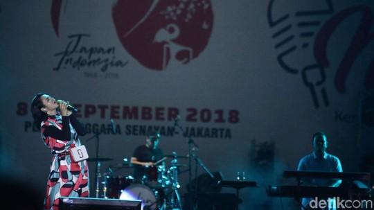 Gaya Andien Meriahkan Festival Musik Jak-Japan Matsuri