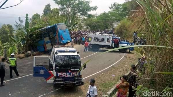 Fakta Bus Maut Sukabumi: 2 Tahun Tak Uji KIR dan Overload