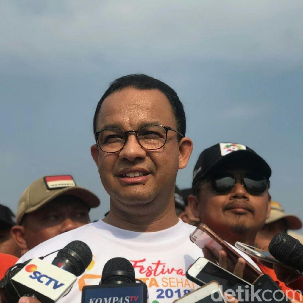 Anies Anggap Kritik-kritik Ketua DPRD DKI Wajar