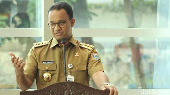 Foto: Gubernur DKI Jakarta Anies Baswedan (Rifkianto Nugroho-detikcom)