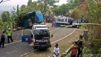 Menhub Cabut Izin PO Bus yang Kecelakaan Maut di Sukabumi