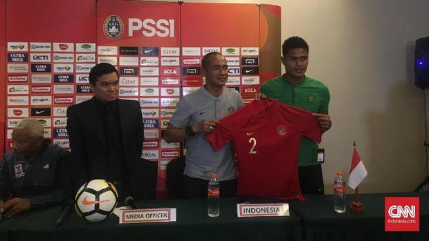 Fachrudin Aryanto kembali dipercaya memperkuat Timnas Indonesia saat melawan Mauritius.