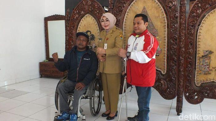 Atlet Asian Para Games 2018 asal Grobogan, Jawa Tengah (Akrom Hazami/detikSport)