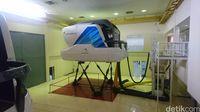Simulator kokpit (Ahmad Masaul/detikTravel)