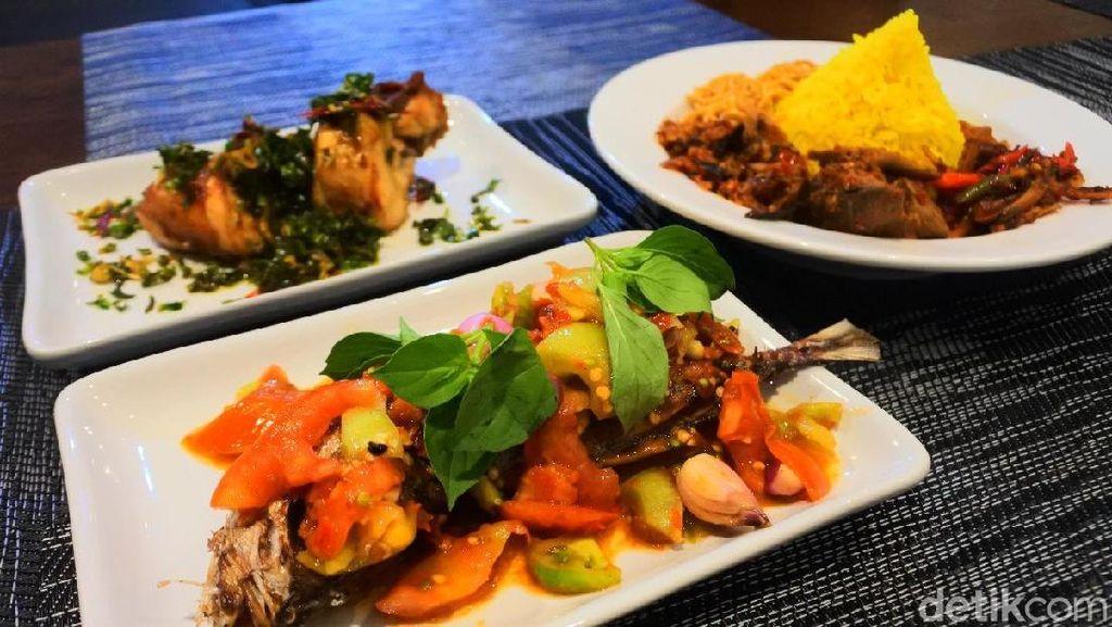 Gamalama: Segar Gurih Ikan Dabu-dabu Manta dan Nasi Kuning Ikang Khas Ternate