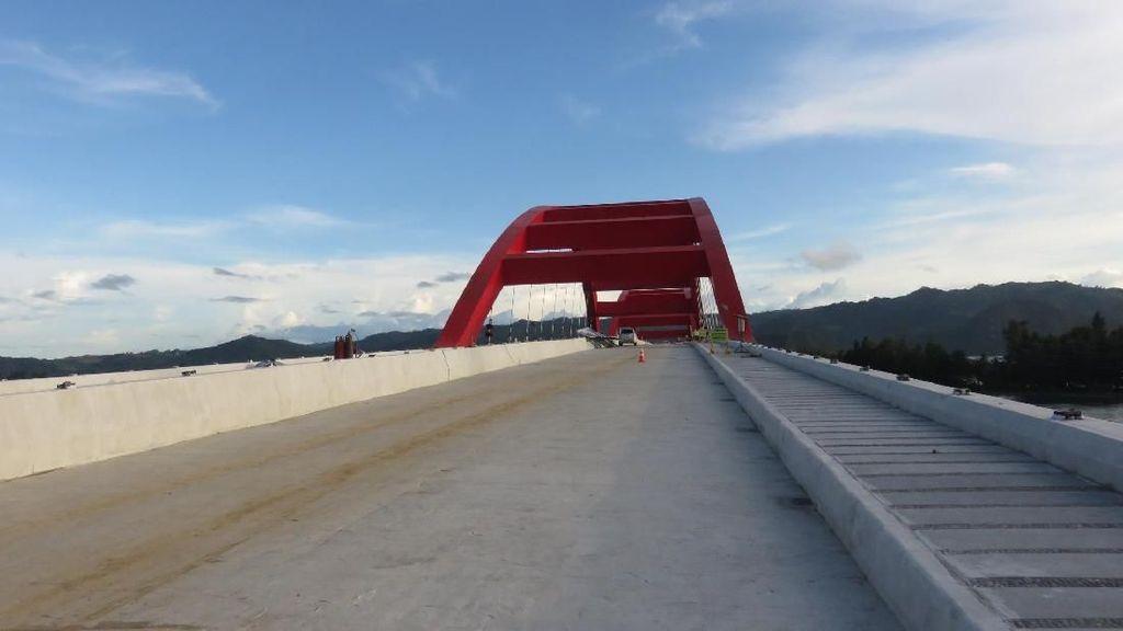 Hampir Rampung, Begini Kondisi Terkini Jembatan Holtekamp