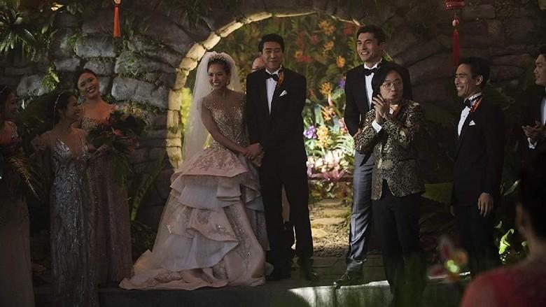 Ada Sentuhan Orang Indonesia di Adegan Film Crazy Rich Asians