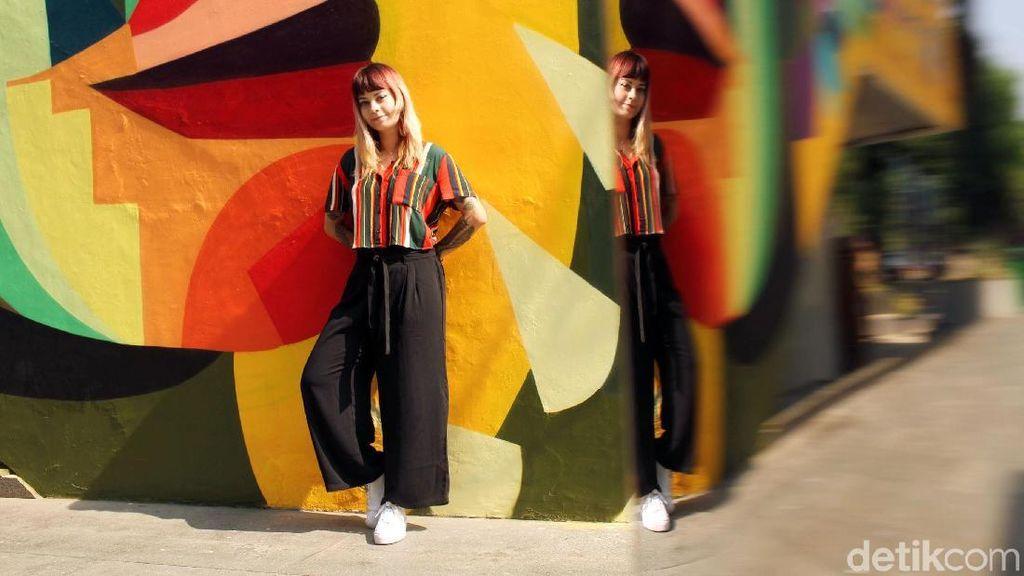 Mengenal LeDania, Seniman Kolombia yang Muralnya Diresmikan Anies