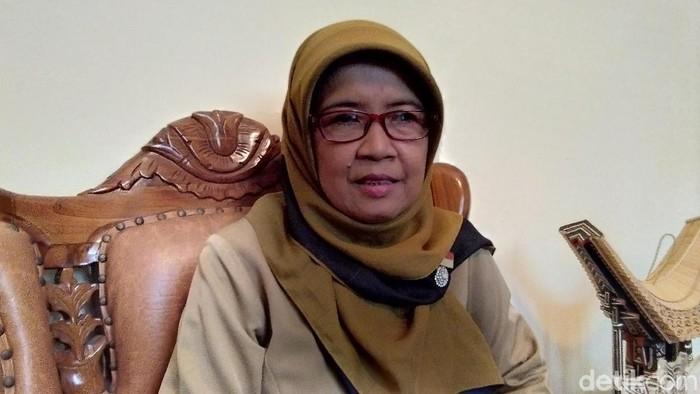 Kepala SMP N 8 Yogyakarta Nuryani Agustina. Foto: Usman Hadi/detikcom