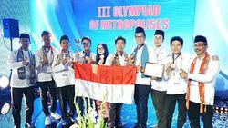 Tim Pelajar DKI Jakarta Juara Kedua di Olimpiade Metropolis Moskow
