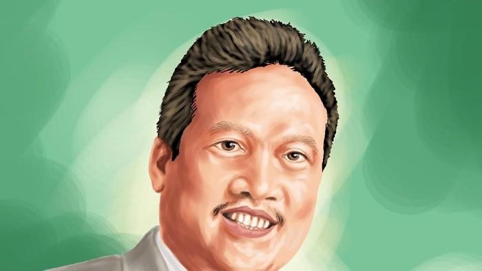 Infografis Sakti Wahyu Trenggono