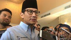 Keppres Pemberhentian Sandiaga sebagai Wagub DKI Sudah Terbit