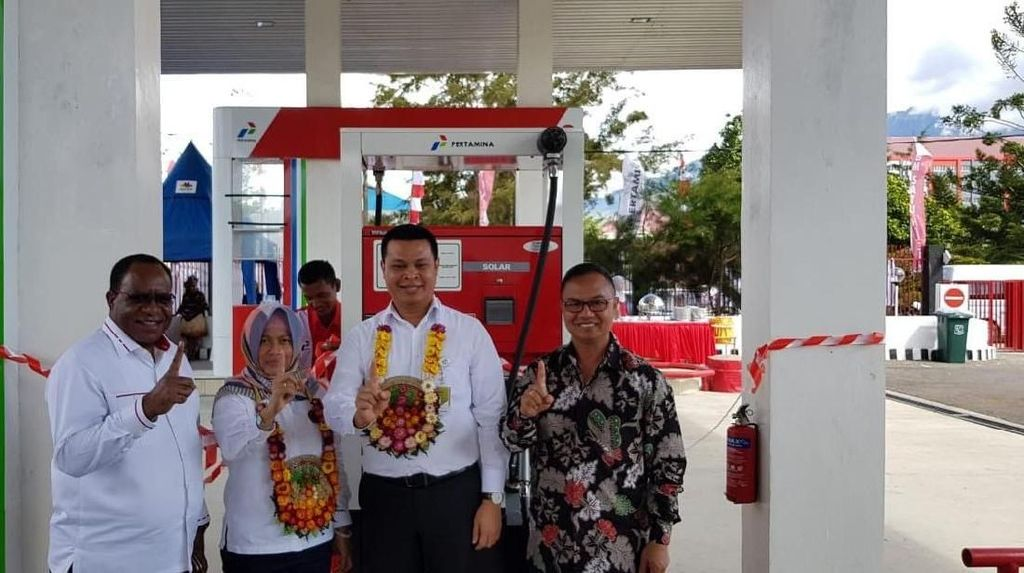 Pertamina Tambah SPBU BBM Satu Harga di Wamena dan Tolikara