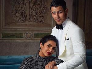 Foto Pertunangan Priyanka Chopra dan Nick Jonas Bikin Meleleh