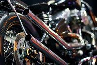 Modifikasi Termuka Suryanation di Makassar milik Harley Davidson Ini