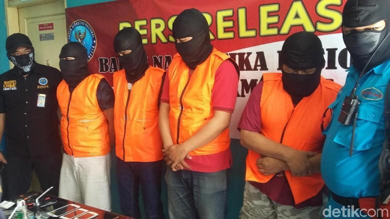 BNN Ungkap Rental Hisap Sabu di Tasikmalaya