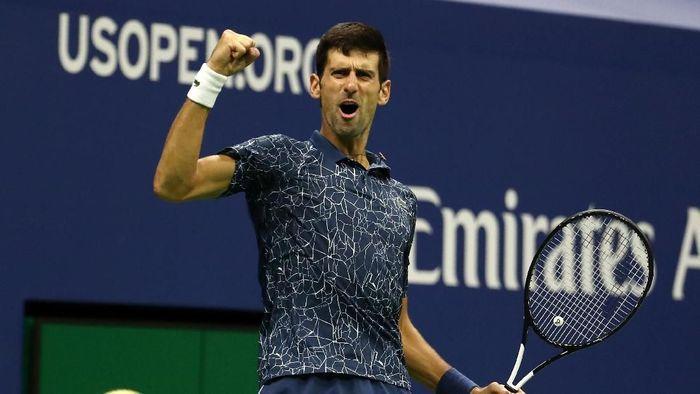 Novak Djokovic juara Amerika Serikat Terbuka 2018 (Foto: Al Bello/Getty Images)