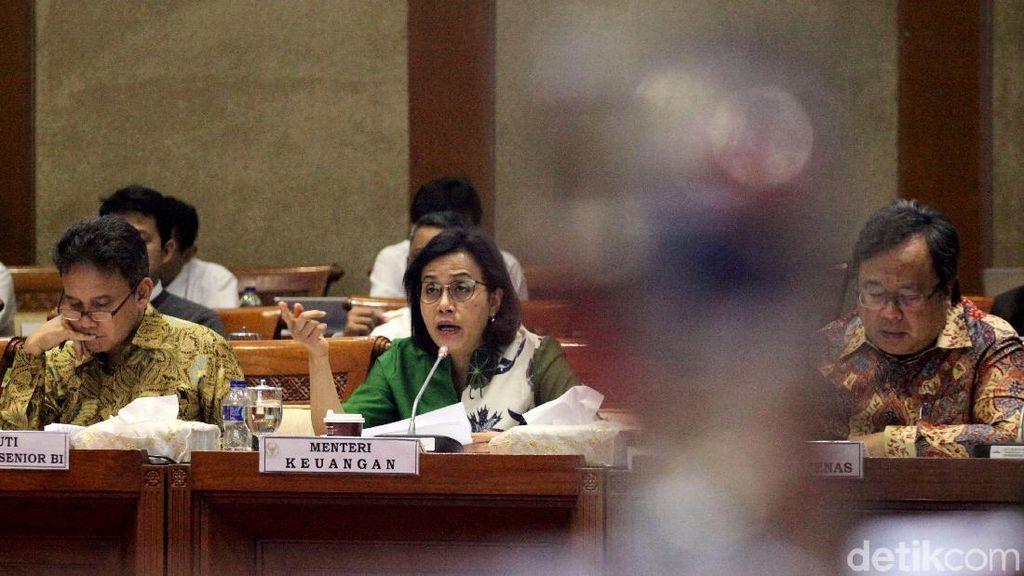 Sri Mulyani Rapat dengan DPR, Bahas Anggaran Kemenkeu di 2019