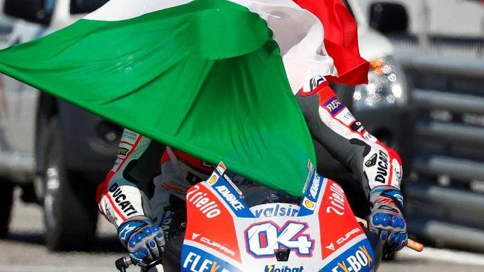 Ducati berpeluang mencatatkan empat kemenangan beruntun untuk kali pertama (REUTERS/Max Rossi)