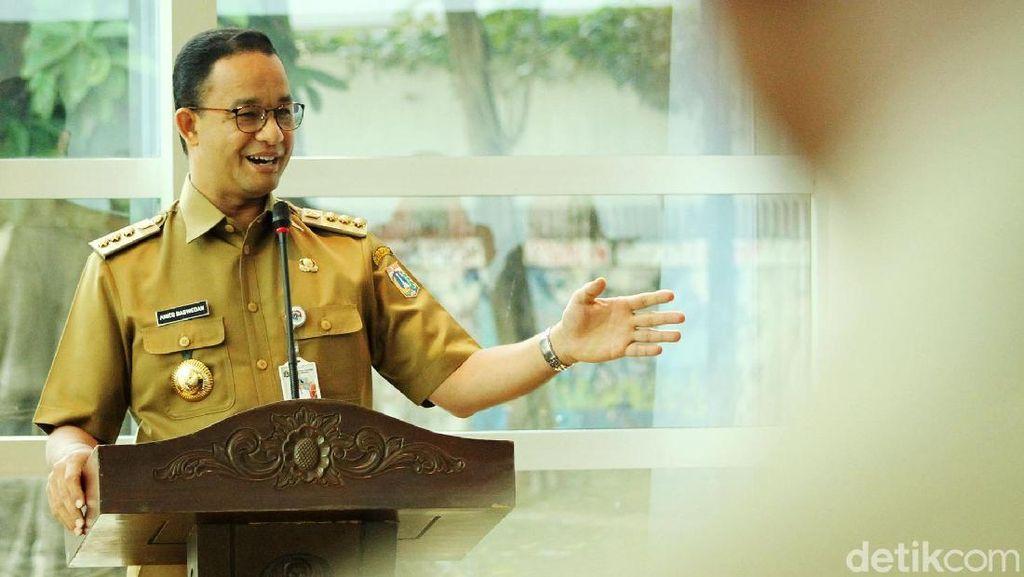 Realisasi Janji Lisan Anies di Tahun Pertama Jadi Gubernur DKI